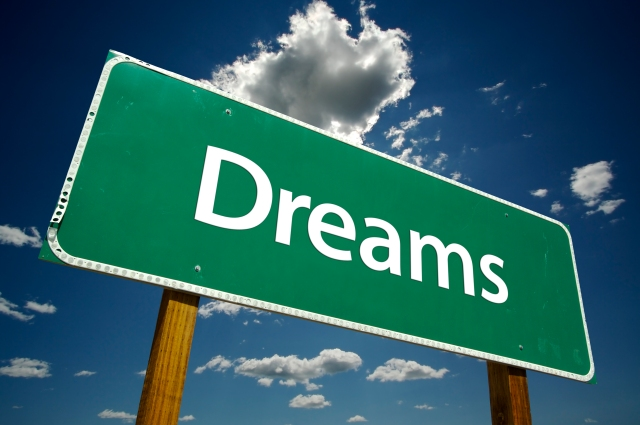 Dreams Road Sign